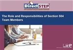 The Role and Responsibilities of Section 504 Team Members