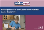 Meeting the Needs of Students with Diabetes Under Section 504