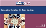 Conducting Compliant IEP Team Meetings