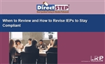 When to Review and How to Revise IEPs to Stay Compliant