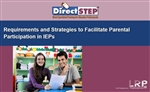 Requirements and Strategies to Facilitate Parental Participation in IEPs