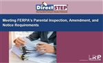 Meeting FERPA's Parental Inspection, Amendment, and Notice Requirements