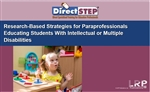 Research-Based Strategies for Paraprofessionals Educating Students With Intellectual or Multiple Disabilities